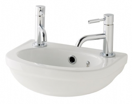 Eastbrook Dura Cloakroom Basin 360mm 2TH